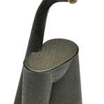 detail view of ear trumpet